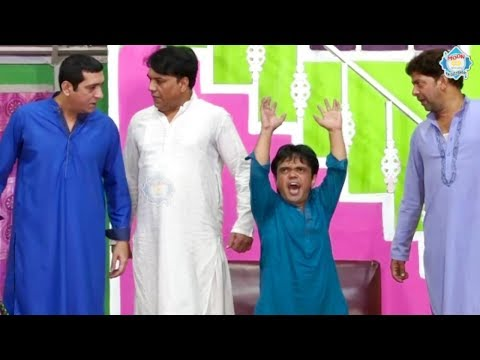 Zafri Khan and Vicky Kodu Stage Drama Baazigar Comedy Clip 2