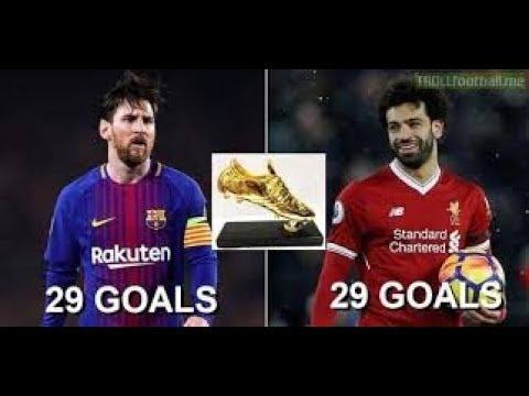 Lionel Messi vs Mohamed Salah 2018 Golden boot race