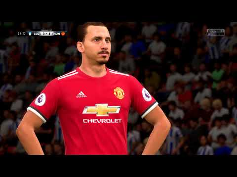 Fifa 18 Colchester - Man Utd LC (1-4) (Legendary)