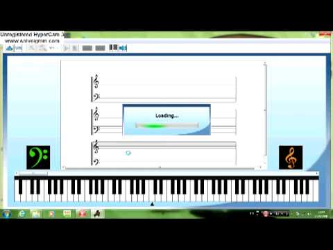 virtual musical notation player studied