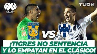 ¡Oso de Gignac y Tigres deja ir el Clásico Regio! | Tigres vs Rayados AP-2016 | TUDN