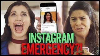 INSTAGRAM EMERGENCY?! w/ Rebecca Black | HACKING HIGH SCHOOL