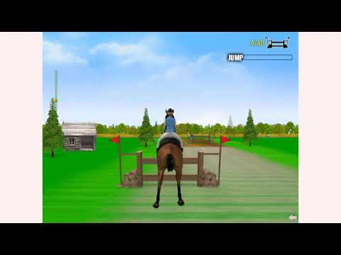 How To Play Horse Jumping 2 Game | Free Online Games | MantiGames.com