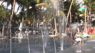 The Kid - Playing around in the Ponce Hilton Water Spray Park