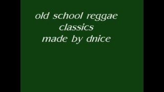 old school reggae classics