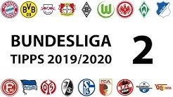 Bundesligatipps 2.Spieltag 2019/2020