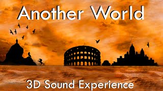 Another World - 3D Sound Experience wear earphones