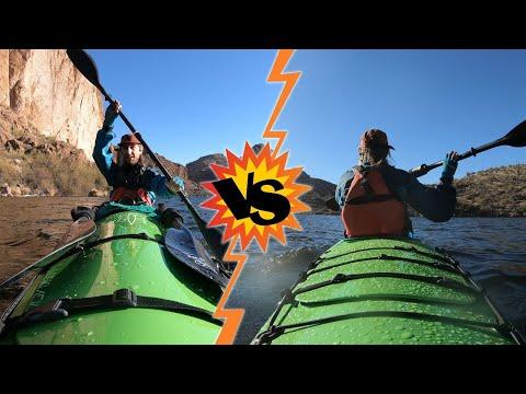 High Angle vs Low Angle Paddles   Kayak Paddle Differences