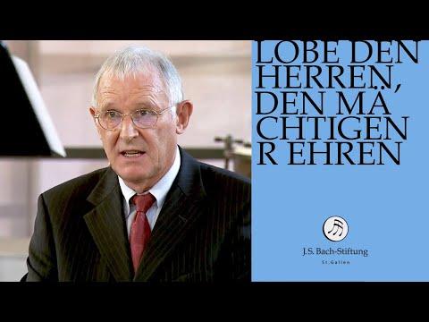 Reflexion von Martin Johann Stähli zur Kantate BWV 137 (J.S. Bach-Stiftung)