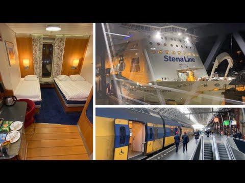 London To Amsterdam By Stena Line Rail & Sail