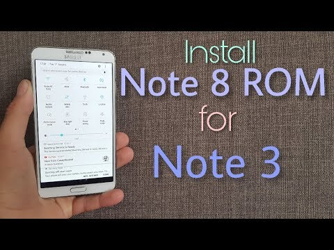 Install Galaxy Note 8 Rom on Galaxy Note 3