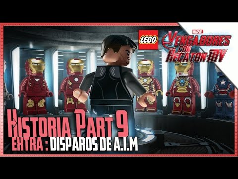 LEGO Marvel Avengers | Part 9 | Shots A.I.M. | 1080p HD Guide