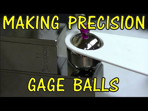 MAKING PRECISION GAGE BALLS