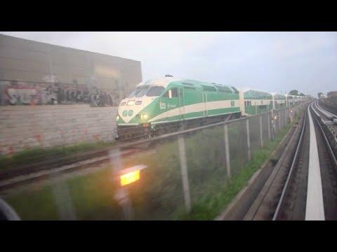 Scarborough RT vs. GO Train race!