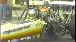 Hugo VanderWaal Top Alcohol Dragster, SIR 1984