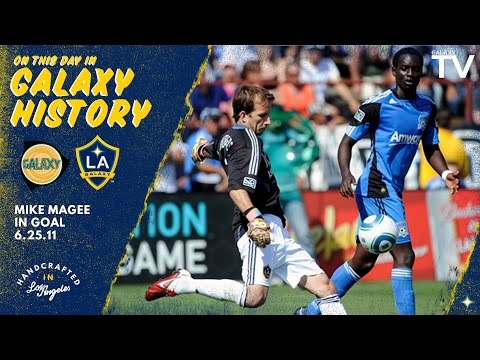On this day in Galaxy history: Mike Magee earns shutout as goalkeeper | June 25, 2011