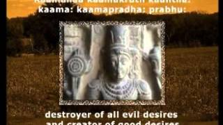 Sri Vishnu Sahasranamam   English Subtitles
