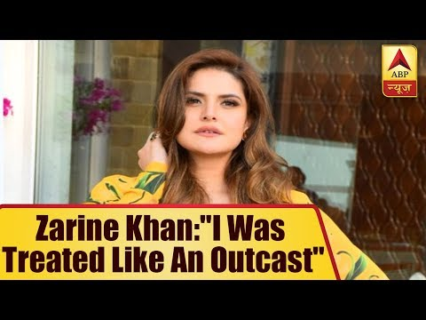 "Zarine Khan: ""I was treated like an outcast when i used to weight more than 100 kg"""