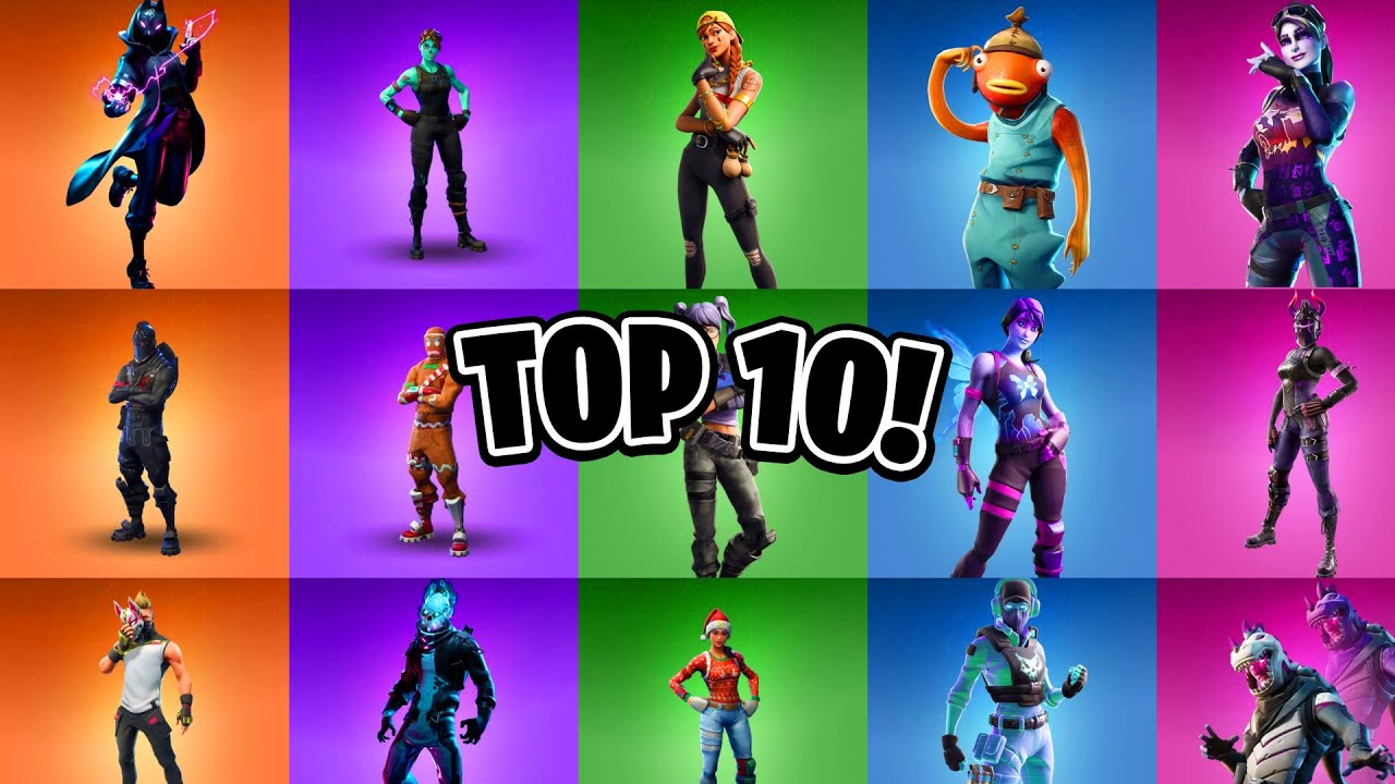 Top 10 Best Skins In Fortnite Top 10 Best Fortnite Skins Youtube Other fortnite skins, sadly, have been whisked away by time and the promise of we've seen evolvable fortnite skins in the past (such as omega), and it'd be cool to see more. top 10 best skins in fortnite top 10 best fortnite skins
