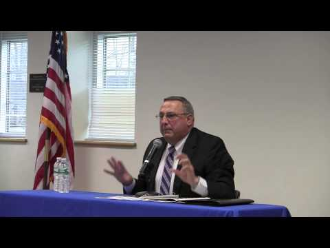 Maine Governor Paul LePage Holds Tax Reform Town Hall in Belfast (Pt 1)