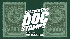 Calculating Doc Stamps - Ask The Instructor