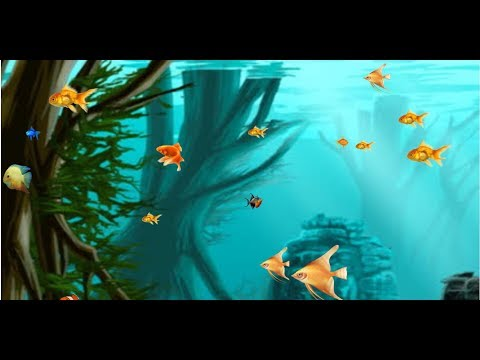 HTML5 Graphics Moving Fishes In The Sea [Ar]