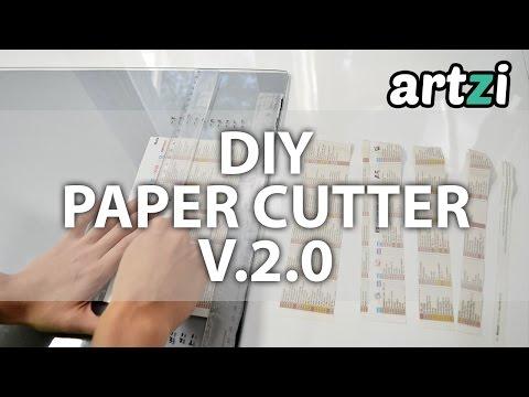 DIY Paper Cutter version 2.0