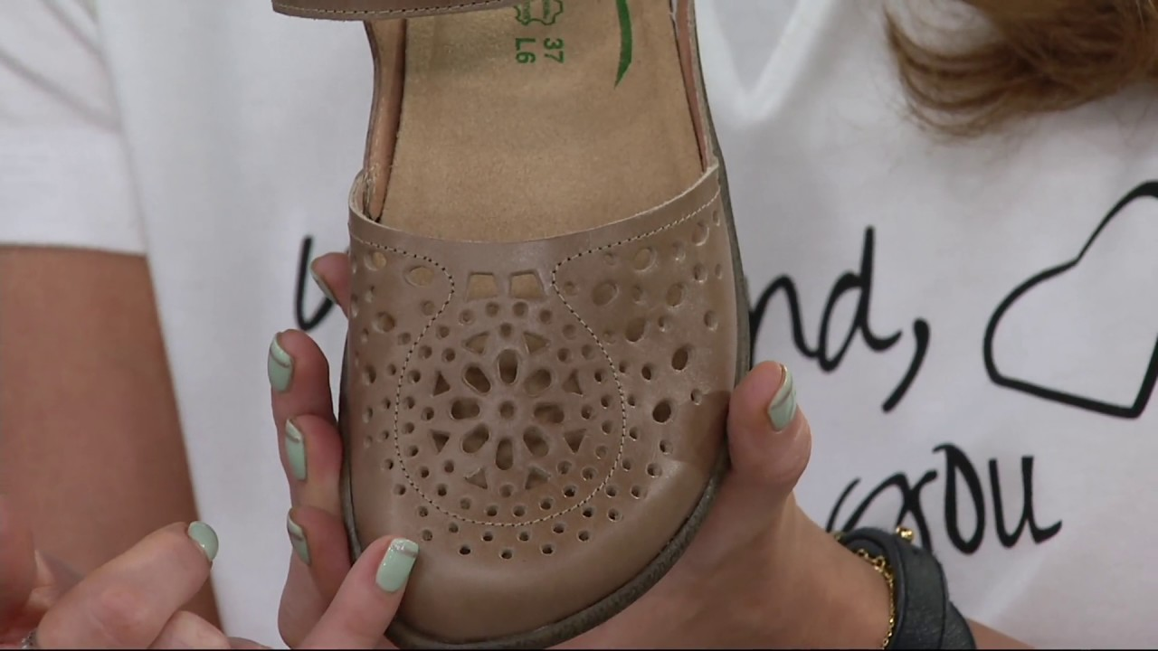 b1b2f0aec9c2 Naot Leather Closed Toe Sandals - Arataki on QVC - YouTube