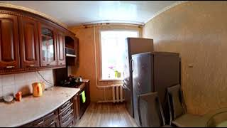 Панорамное видео. 4-комн. ул. Понизовка 52, 74.8 м²