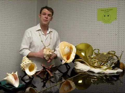 How to Play notes on a conch Shell Pt. 1