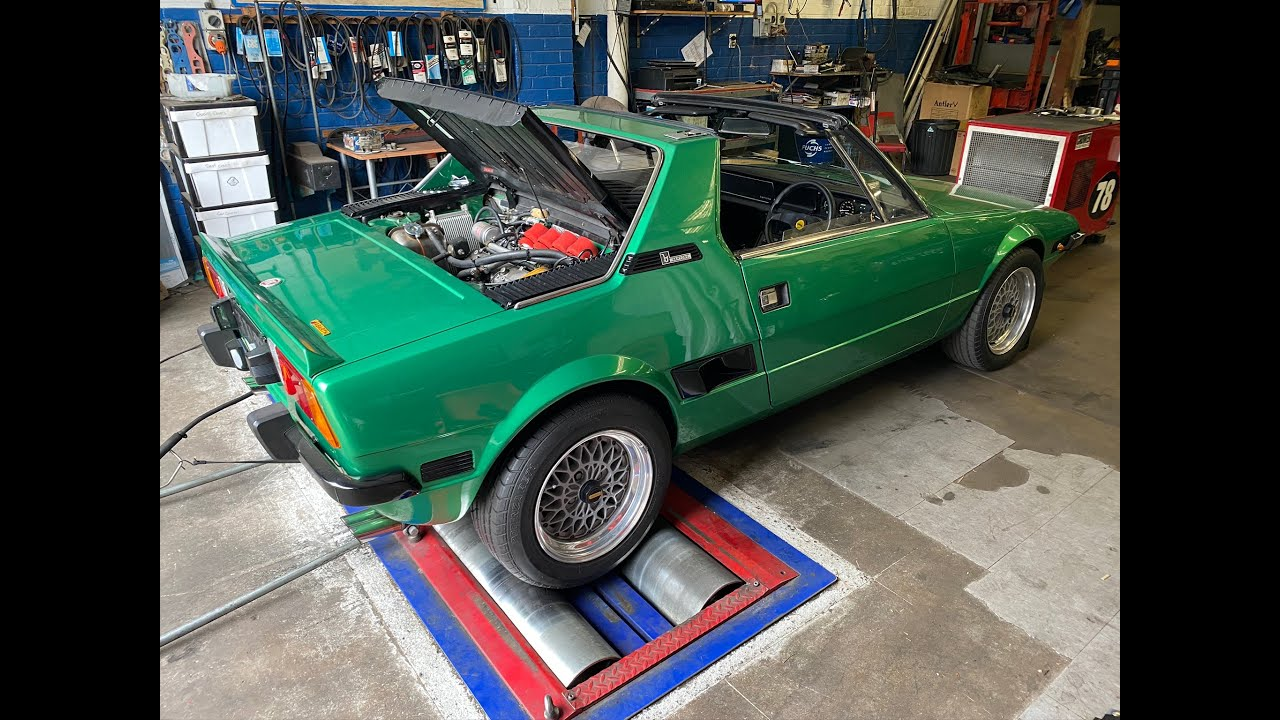 Fiat X1/9 Dyno of 2L and Turbo