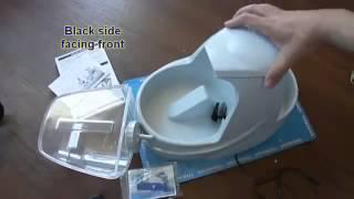 видео Питьевые фонтанчики для кошек, поилки-фонтаны