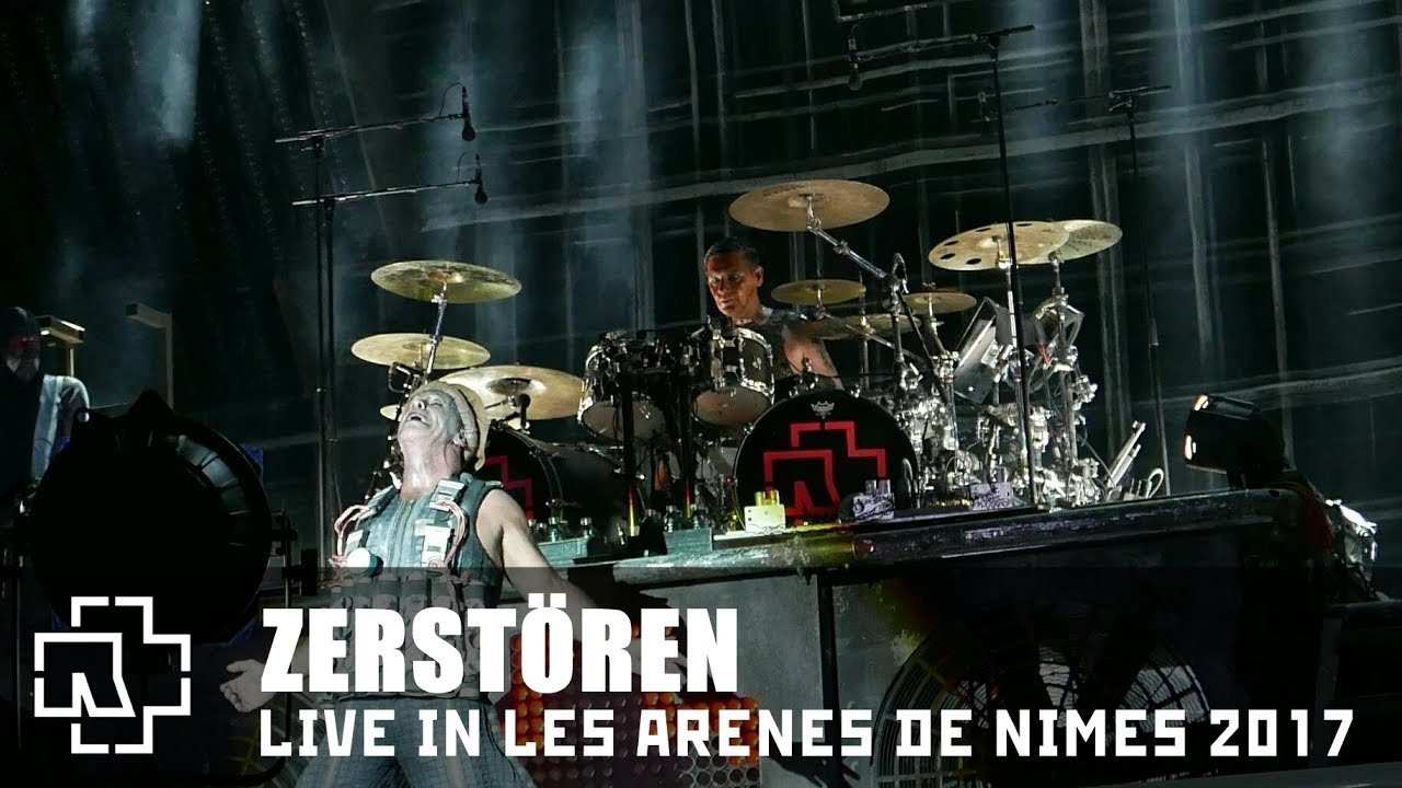 rammstein zerst ren live in les ar nes de n mes 2017 multicam youtube. Black Bedroom Furniture Sets. Home Design Ideas