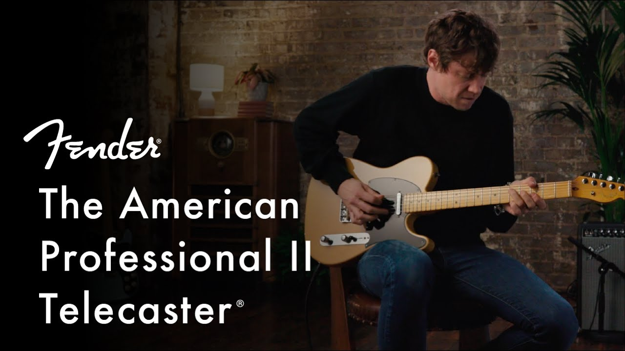 Exploring The American Professional II Telecaster | American Professional II Series | Fender