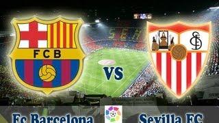 Чемпионат Испании 2013-14. 4-й тур. Барселона - Севилья(Отличная игра Барселоны и Севильи., 2013-09-14T23:36:17.000Z)