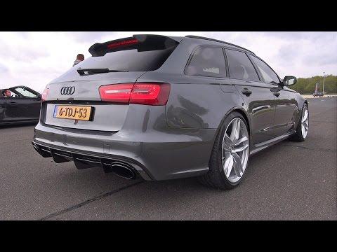 Audi RS6 Avant C7 Accelerations!