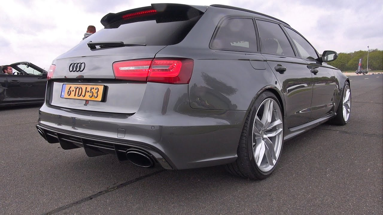 audi rs6 avant c7 accelerations youtube. Black Bedroom Furniture Sets. Home Design Ideas