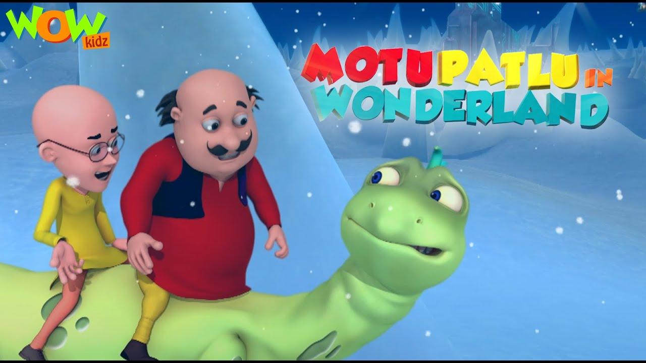 BEST movies of MOTU PATLU | Motu Patlu In Wonderland - Part 2 | Wow Kidz | Funny movies for KIDS