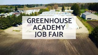 Greenhouse Academy Sowing the Seeds Job Expo