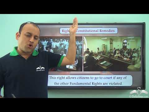 Fundamental rights available to the citizens: Part 2