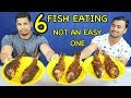EATING 6 KG FRIED FISH CHALLENGE   EAT   EATING   FOOD   FISH FRY   INDIAN