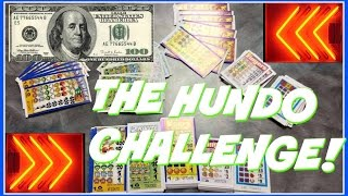 100 Dollar Pull Tab Lottery Ticket Challenge! What Can I Win? Arcadejackpotpro
