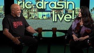 "Angelina GLOW ""Little Egypt"" on Ric Drasin Live!"