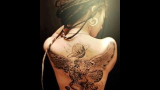 Video angel and devil girl tattoo download MP3, 3GP, MP4, WEBM, AVI, FLV Juni 2018