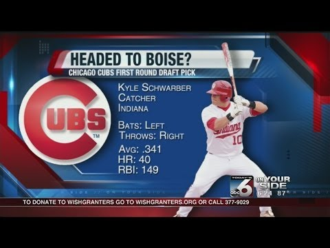 Cubs select Schwarber with fourth overall pick in MLB Draft