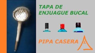 como hacer una pipa con materiales reciclados