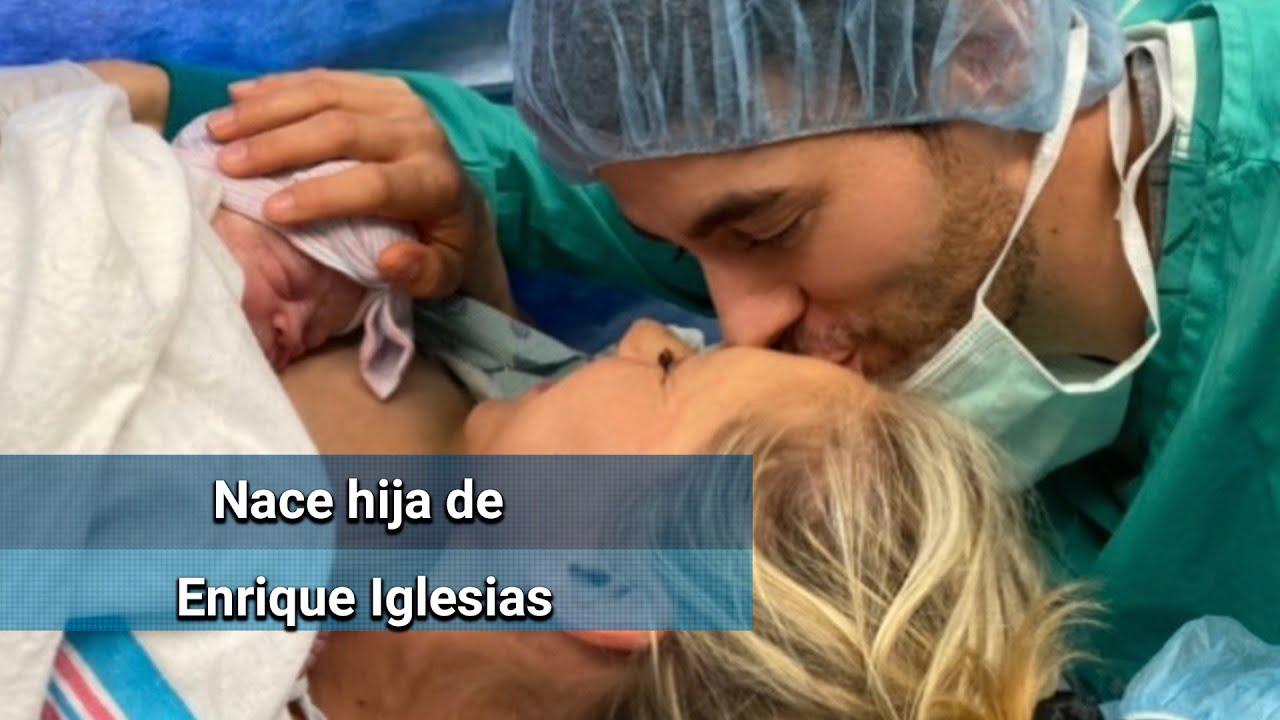 Enrique Iglesias y Anna Kournikova anuncian el nacimiento de su ...