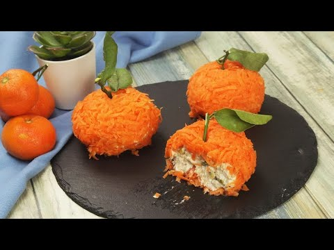 Savory tangerines the original recipe to tease your guests