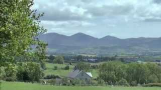 The Mourne Mountains in County Down.