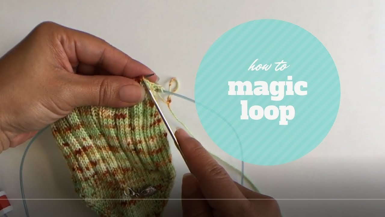 How To Knit Socks Using Magic Loop Youtube